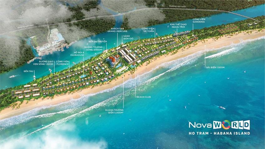 Chuỗi tiện ích Habana Island - Novaworld Hồ Tràm