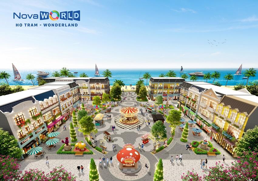 Quảng trường biển (tổ chức các sự kiện, vui chơi giải trí ...) wonderland