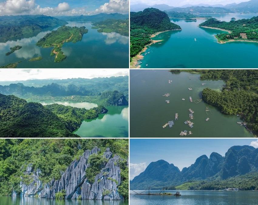 Ảnh thực tế hồ Hoà Bình Cullinan Resort