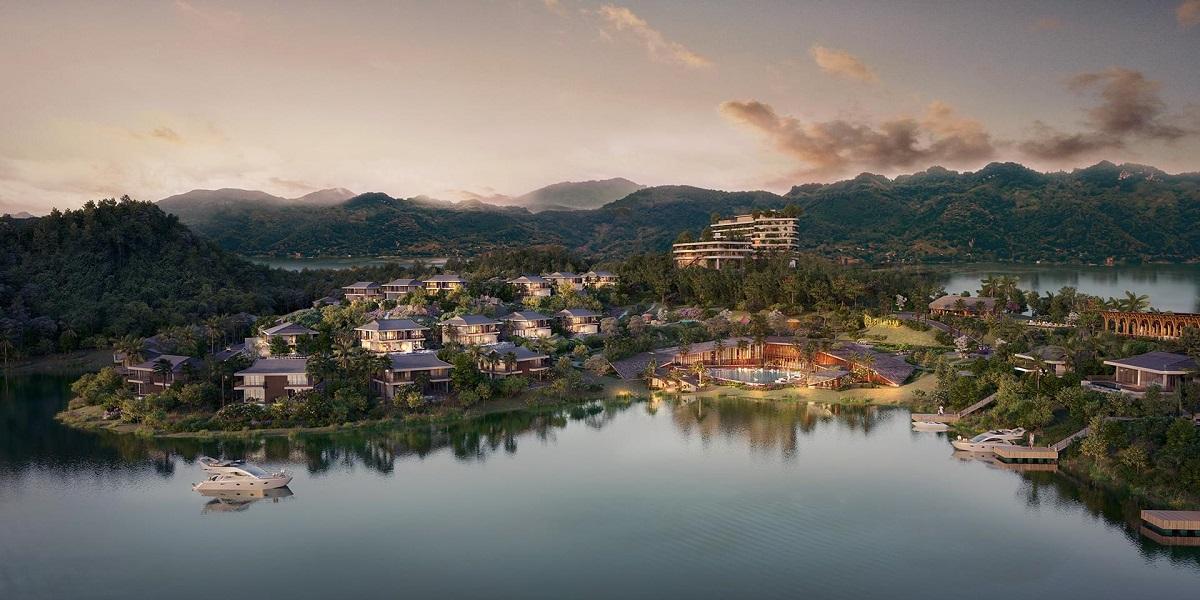 Phối cảnh Cullinan Resort Hoà Bình
