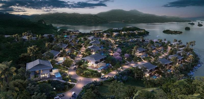Phối cảnh siêu Cullinan Resort Hòa Bình