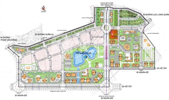 Quy hoạch Khu đô thị Ngoại Giao Đoàn