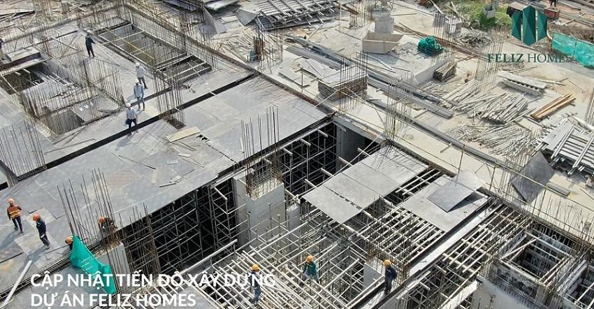 Tháng 10/2020, dự án đã thi công xong móng và các tầng hầm.