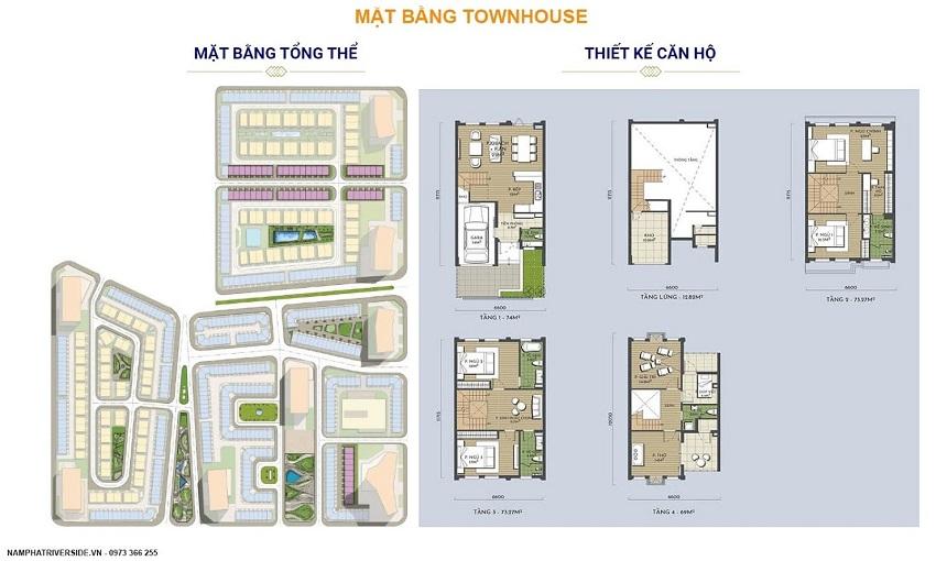 Thiết kế Liền kề/Townhouse