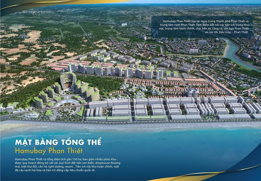 Quy hoạch tổng thể dự án Hamubay Phan Thiết