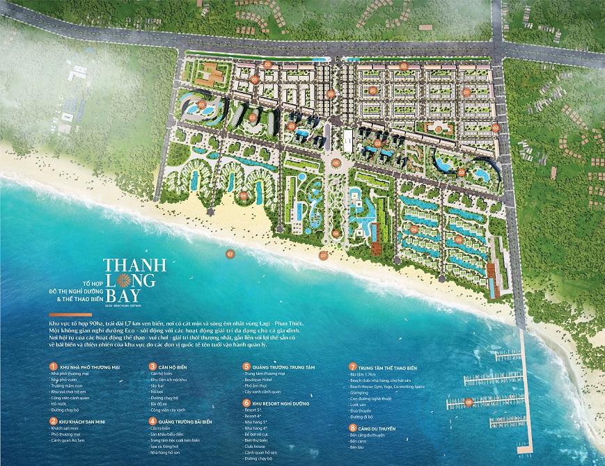 Quy hoạch chi tiết dự án Thanh Long Bay Phan Thiết