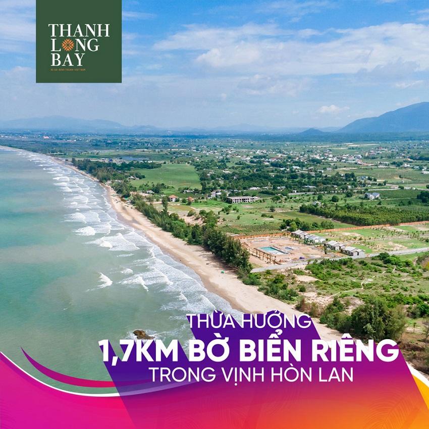 Thanh Long Bay thừa hưởng đường bờ biển đẹp hàng đầu Việt Nam