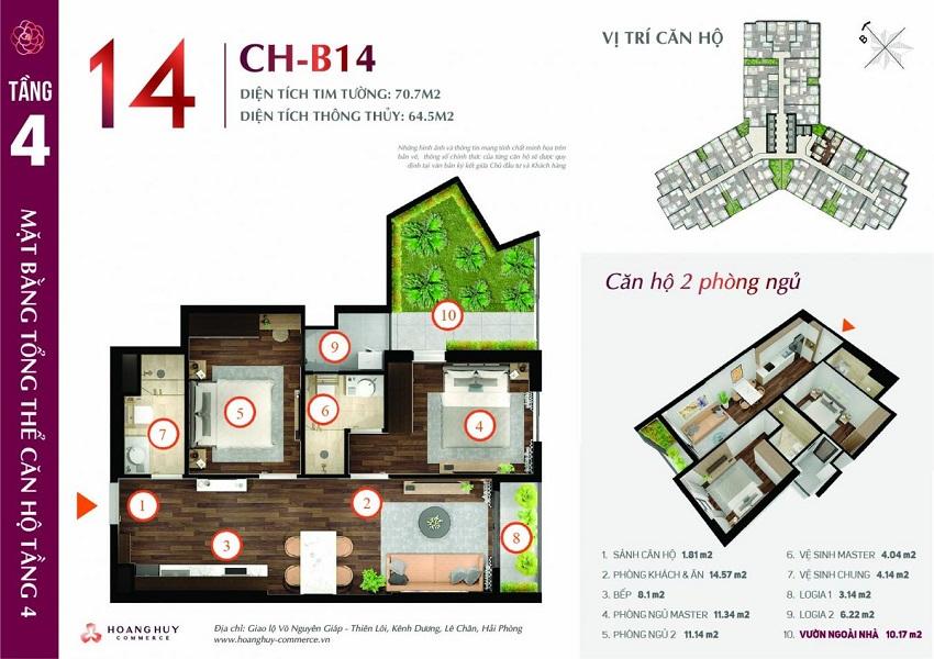 Thiết kế căn hộ 14