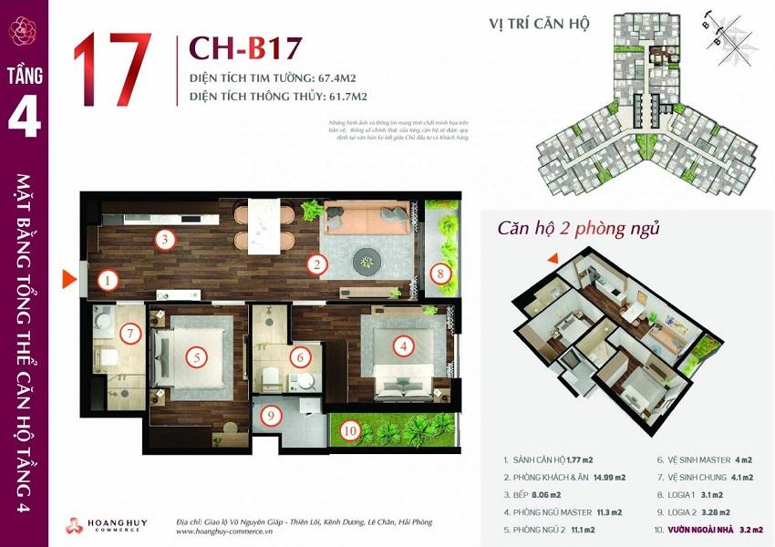 Thiết kế căn hộ 17