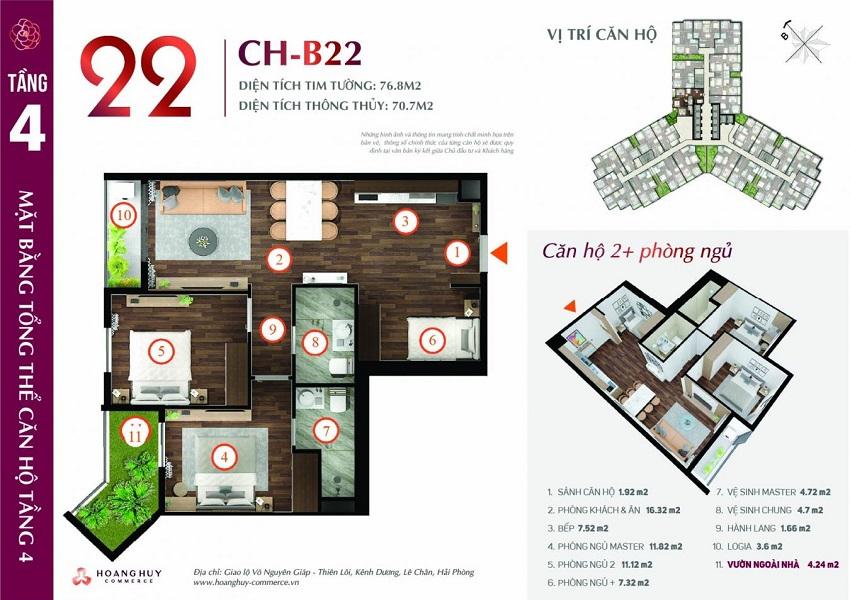 Thiết kế căn hộ 22