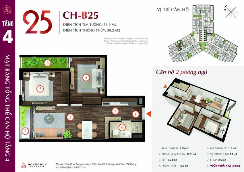 Thiết kế căn hộ 25