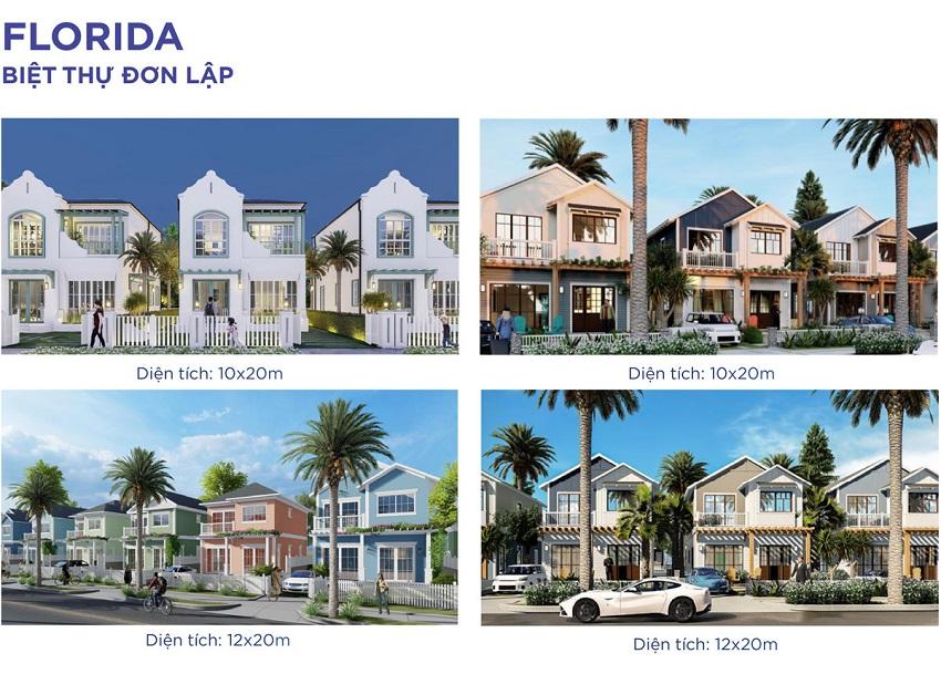 Thiết kế Biệt thự đơn lập Florida
