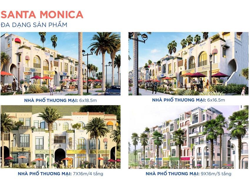 Thiết kế sản phẩm Santa Monica Novaworld Bình Thuận