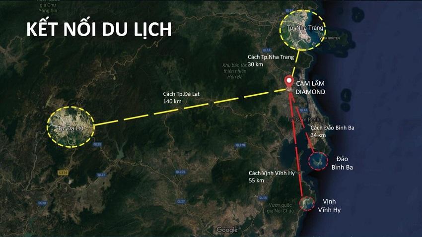 Kết nối du dịch Nha Trang - Cam Lâm