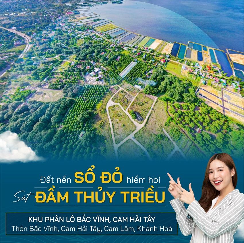 Phân lô đất nền Cam Lâm - Bắc Vĩnh, Cam Hải Tây