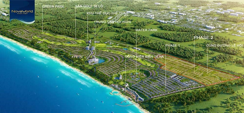 Tiện ích tổng thể dự án Novaworld Phan Thiết