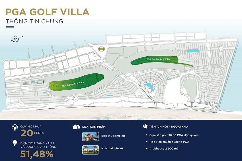 Phân khu PGA Golf Villa Novaworld Phan Thiết