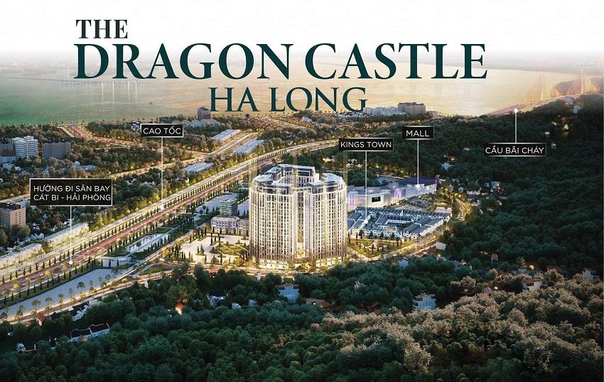 Phối cảnh dự án chung cư The Dragon Castle Hạ Long