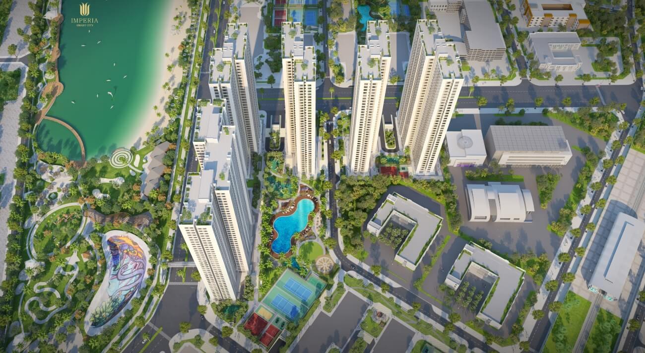 Phối cảnh chung cư Imperia Smart City