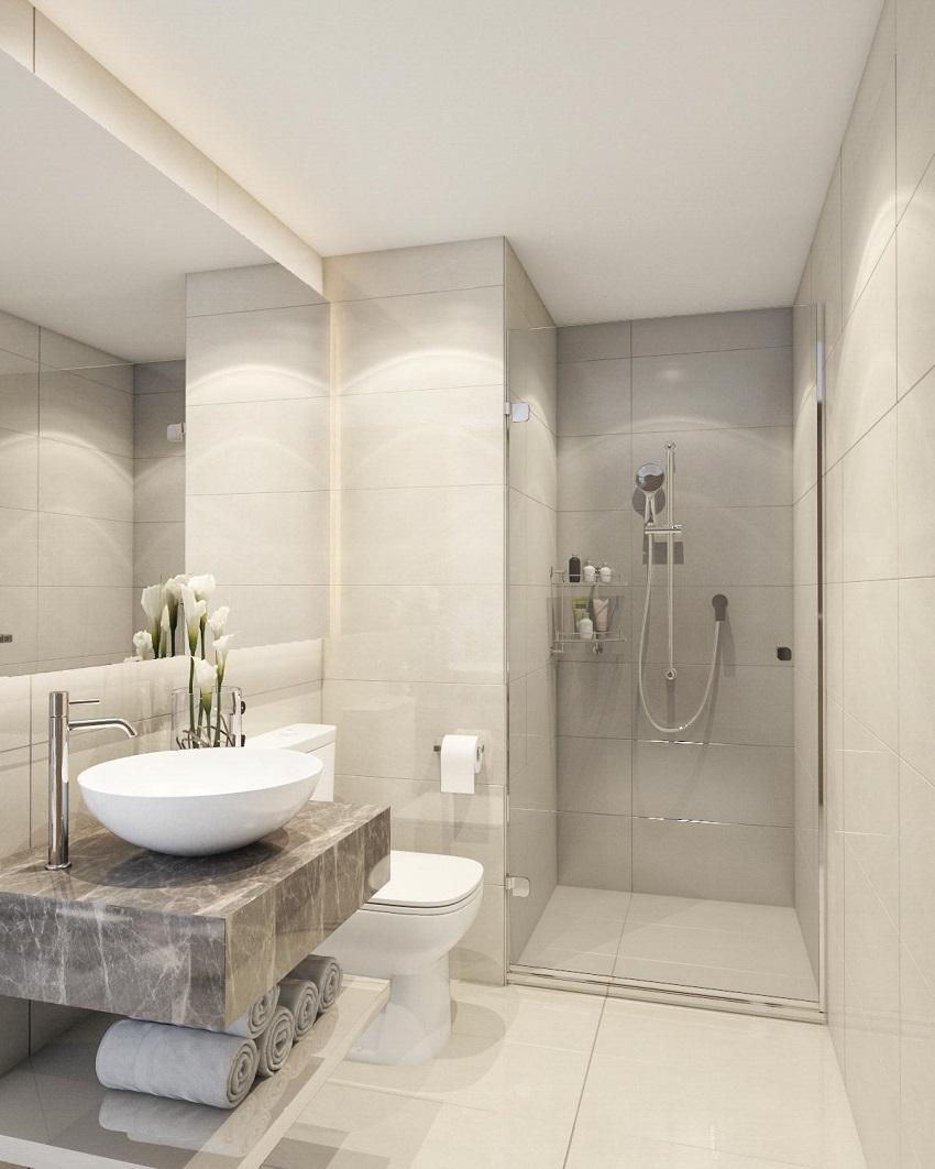 Thiết kế nhà mẫu Phòng Tắm