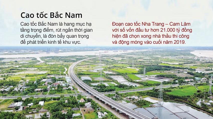 Kết nối cao tốc Bắc Nam - Nha Trang Cam Lâm