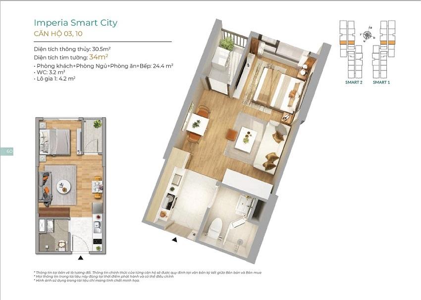 Thiết kế căn hộ 03, 10