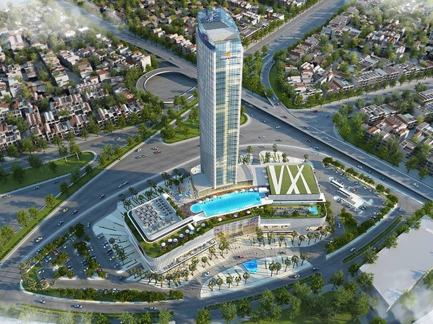 Tổ hợp TTTM Vincom Plaza và khách sạn 5 sao Vinpearl Hotel Imperia Hải Phòng