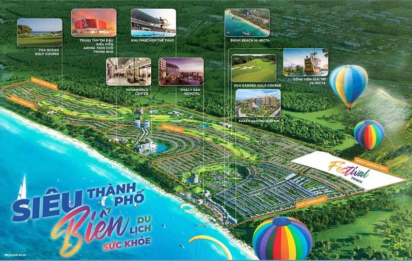 Tổ hợp du lịch nghỉ dưỡng giải trí NovaWorld Phan Thiết