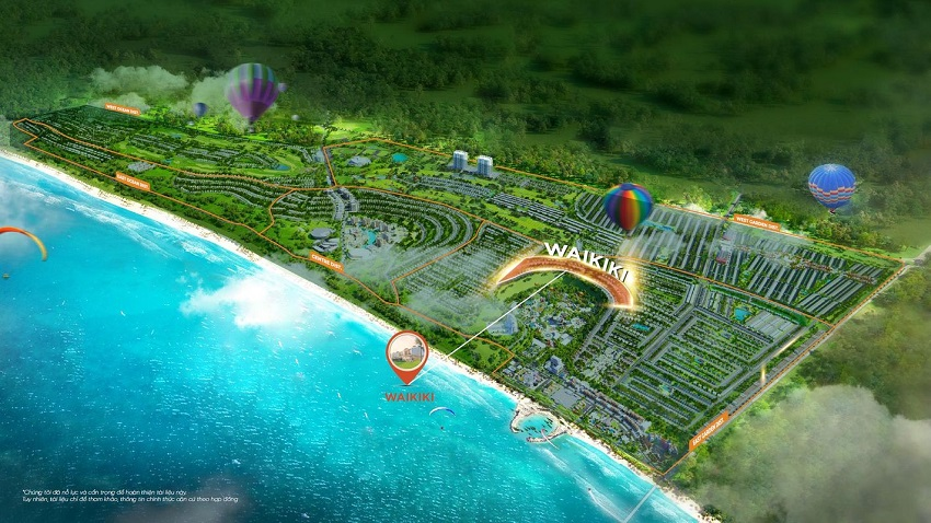 Phân khu Wakiki Novaworld Phan Thiết